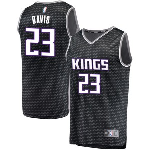 Fanatics Branded Sacramento Kings Swingman Black Deyonta Davis Fast Break Jersey - Statement Edition - Youth