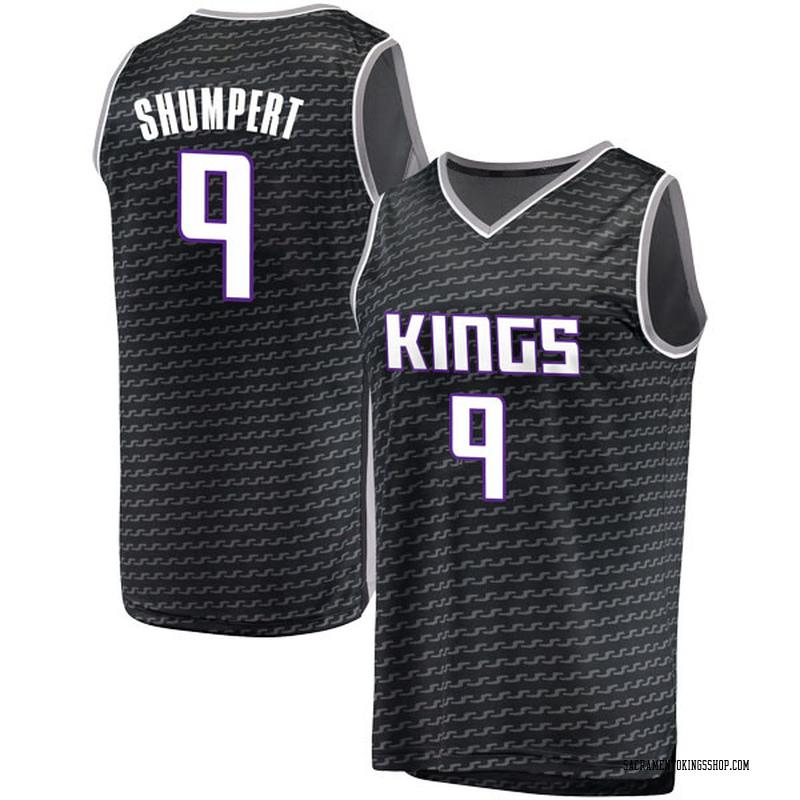 Fanatics Branded Sacramento Kings Swingman Black Iman Shumpert Fast Break Jersey - Statement Edition - Men's