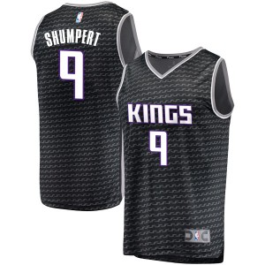 Fanatics Branded Sacramento Kings Swingman Black Iman Shumpert Fast Break Jersey - Statement Edition - Youth