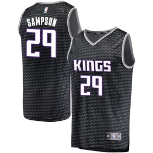 Fanatics Branded Sacramento Kings Swingman Black Jakarr Sampson Fast Break Jersey - Statement Edition - Youth