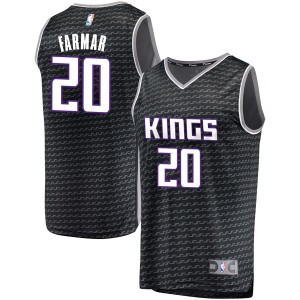 Fanatics Branded Sacramento Kings Swingman Black Jordan Farmar Fast Break Jersey - Statement Edition - Youth