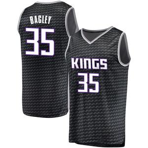 Fanatics Branded Sacramento Kings Swingman Black Marvin Bagley III Fast Break Jersey - Statement Edition - Men's