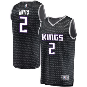 Fanatics Branded Sacramento Kings Swingman Black Nigel Hayes Fast Break Jersey - Statement Edition - Youth