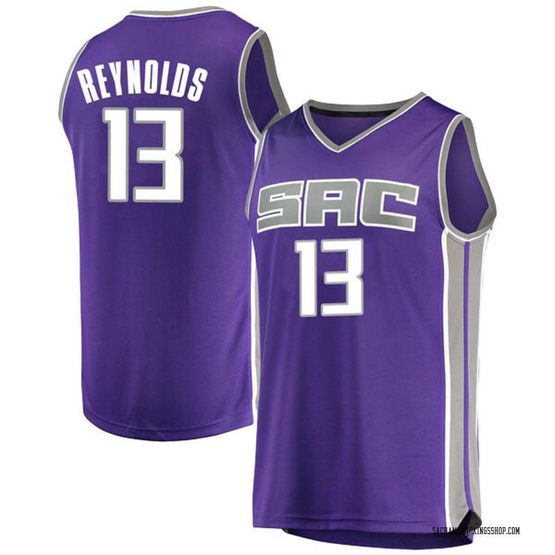 Fanatics Branded Sacramento Kings Swingman Purple Cameron Reynolds Fast Break Jersey - Icon Edition - Youth