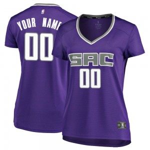 Fanatics Branded Sacramento Kings Swingman Purple Custom Fast Break Jersey - Icon Edition - Women's