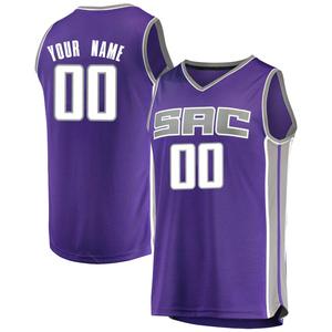 Fanatics Branded Sacramento Kings Swingman Purple Custom Fast Break Jersey - Icon Edition - Youth