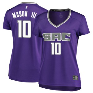 Fanatics Branded Sacramento Kings Swingman Purple Frank Mason III Fast Break Jersey - Icon Edition - Women's