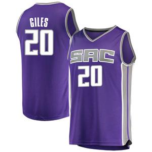 Fanatics Branded Sacramento Kings Swingman Purple Harry Giles Fast Break Jersey - Icon Edition - Youth