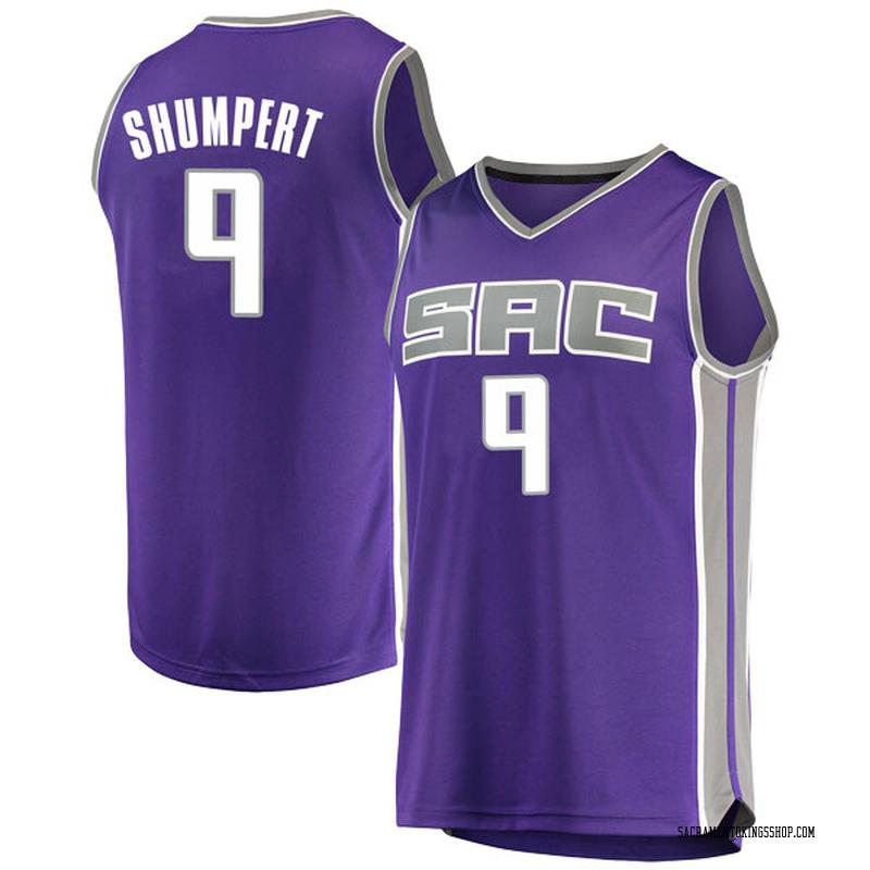 Fanatics Branded Sacramento Kings Swingman Purple Iman Shumpert Fast Break Jersey - Icon Edition - Youth
