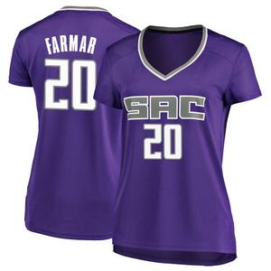 Fanatics Branded Sacramento Kings Swingman Purple Jordan Farmar Fast Break Jersey - Icon Edition - Women's