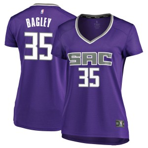 Fanatics Branded Sacramento Kings Swingman Purple Marvin Bagley III Fast Break Jersey - Icon Edition - Women's