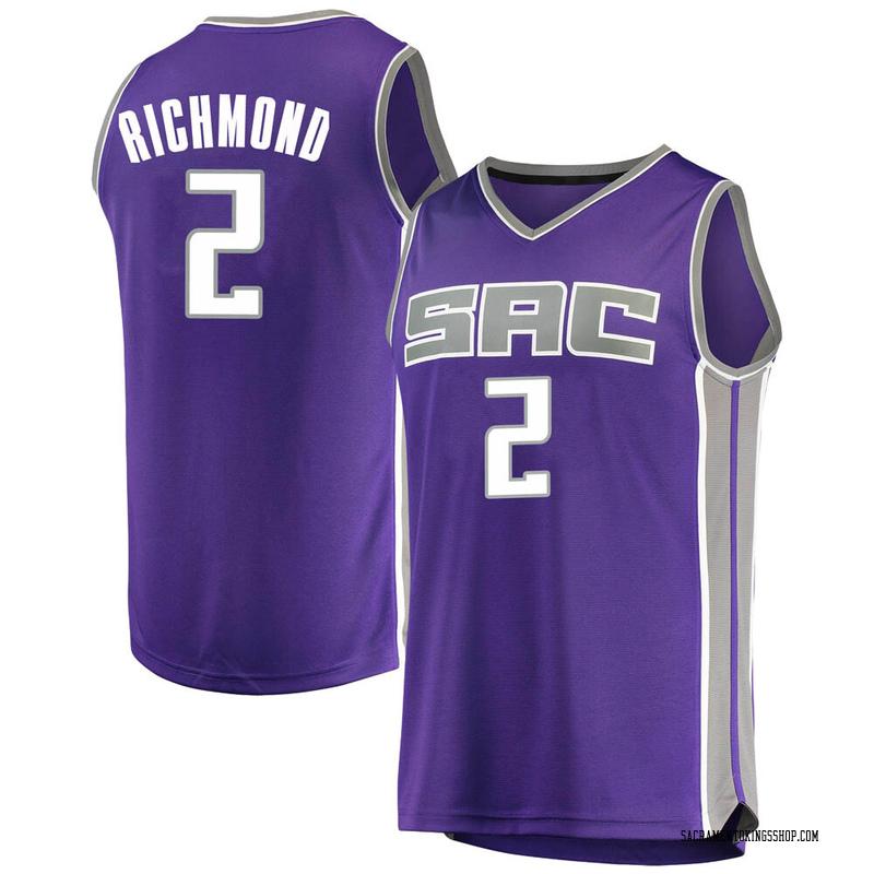 Fanatics Branded Sacramento Kings Swingman Purple Mitch Richmond Fast Break Jersey - Icon Edition - Men's
