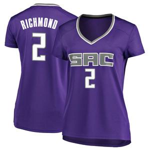 Fanatics Branded Sacramento Kings Swingman Purple Mitch Richmond Fast Break Jersey - Icon Edition - Women's