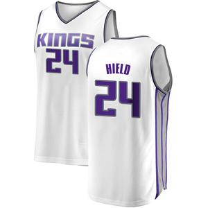 Fanatics Branded Sacramento Kings Swingman White Buddy Hield Fast Break Jersey - Association Edition - Youth