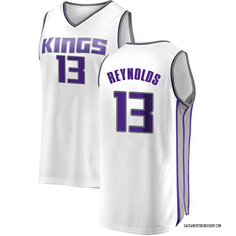 Fanatics Branded Sacramento Kings Swingman White Cameron Reynolds Fast Break Jersey - Association Edition - Youth