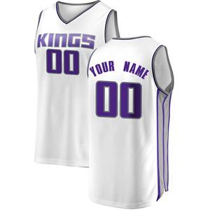 Fanatics Branded Sacramento Kings Swingman White Custom Fast Break Jersey - Association Edition - Youth
