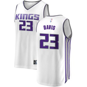Fanatics Branded Sacramento Kings Swingman White Deyonta Davis Fast Break Jersey - Association Edition - Men's