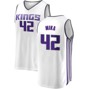 Fanatics Branded Sacramento Kings Swingman White Eric Mika Fast Break Jersey - Association Edition - Youth