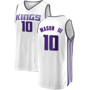 Fanatics Branded Sacramento Kings Swingman White Frank Mason III Fast Break Jersey - Association Edition - Men's