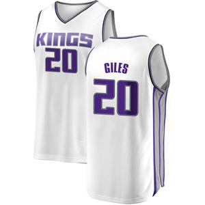 Fanatics Branded Sacramento Kings Swingman White Harry Giles Fast Break Jersey - Association Edition - Men's