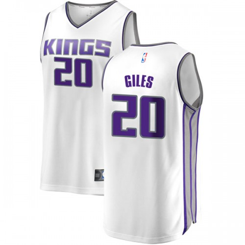 Fanatics Branded Sacramento Kings Swingman White Harry Giles Fast Break Jersey - Association Edition - Youth