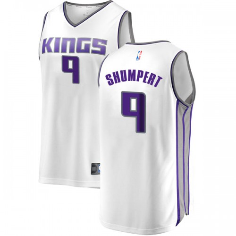 Fanatics Branded Sacramento Kings Swingman White Iman Shumpert Fast Break Jersey - Association Edition - Youth