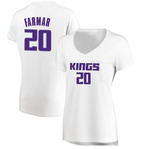 Fanatics Branded Sacramento Kings Swingman White Jordan Farmar Fast Break Jersey - Association Edition - Women's