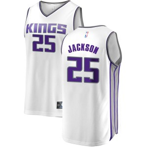 Fanatics Branded Sacramento Kings Swingman White Justin Jackson Fast Break Jersey - Association Edition - Youth
