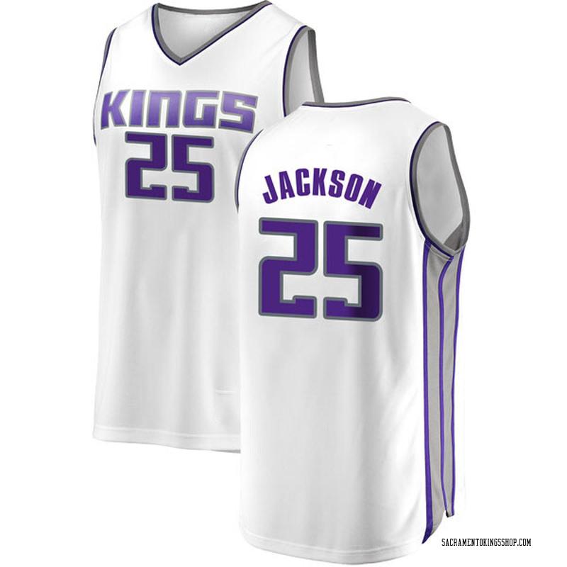 Fanatics Branded Sacramento Kings Swingman White Justin Jackson Fast Break Jersey - Association Edition - Youth