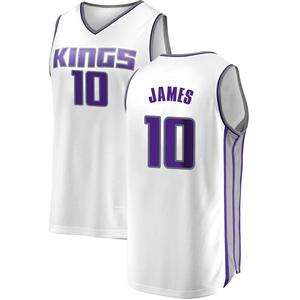 Fanatics Branded Sacramento Kings Swingman White Justin James Fast Break Jersey - Association Edition - Youth
