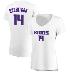 Fanatics Branded Sacramento Kings Swingman White Oscar Robertson Fast Break Jersey - Association Edition - Women's