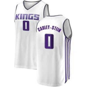 Fanatics Branded Sacramento Kings Swingman White Willie Cauley-Stein Fast Break Jersey - Association Edition - Youth