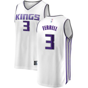 Sacramento Kings Swingman White Yogi Ferrell Fast Break Jersey - Association Edition - Youth