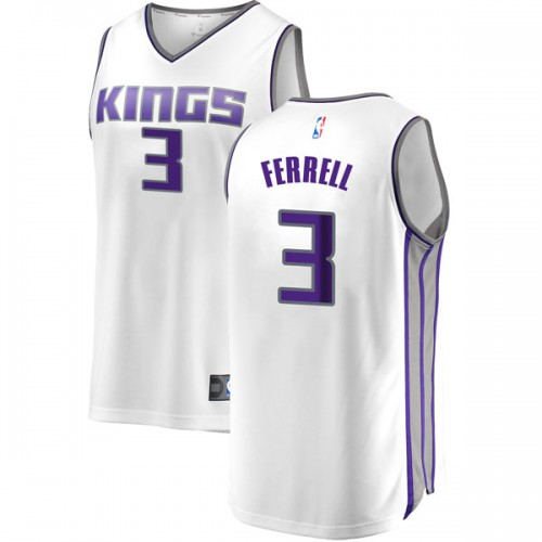 Fanatics Branded Sacramento Kings Swingman White Yogi Ferrell Fast Break Jersey - Association Edition - Youth