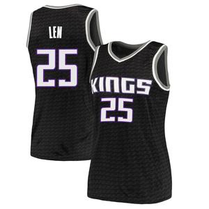 Nike Sacramento Kings Swingman Black Alex Len Jersey - Statement Edition - Women's