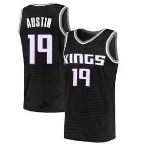 Nike Sacramento Kings Swingman Black Brandon Austin Jersey - Statement Edition - Men's