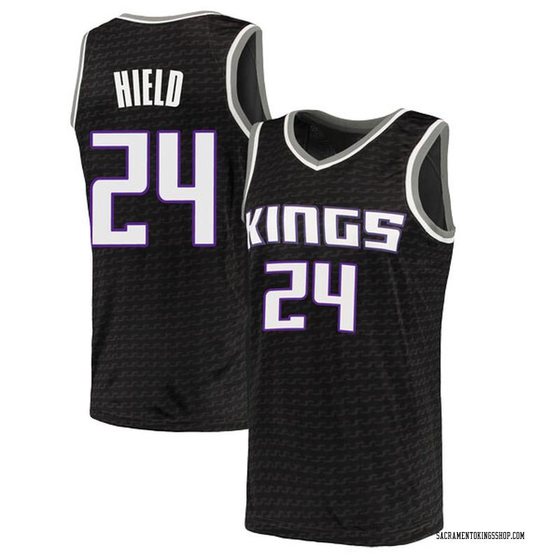 Nike Sacramento Kings Swingman Black Buddy Hield Jersey - Statement Edition - Men's