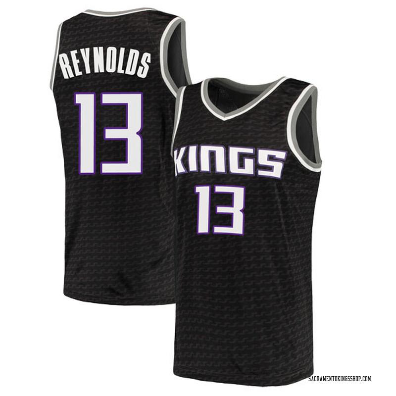 Nike Sacramento Kings Swingman Black Cameron Reynolds Jersey - Statement Edition - Men's