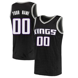 Nike Sacramento Kings Swingman Black Custom Jersey - Statement Edition - Men's