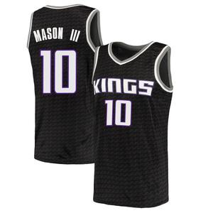 Nike Sacramento Kings Swingman Black Frank Mason III Jersey - Statement Edition - Men's