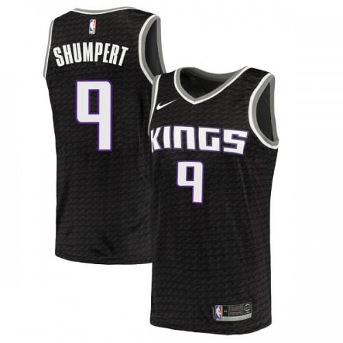 Nike Sacramento Kings Swingman Black Iman Shumpert Jersey - Statement Edition - Youth