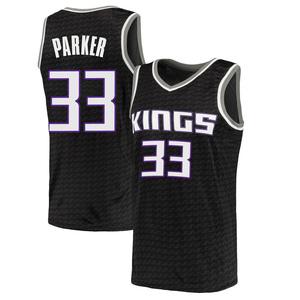 Nike Sacramento Kings Swingman Black Jabari Parker Jersey - Statement Edition - Men's