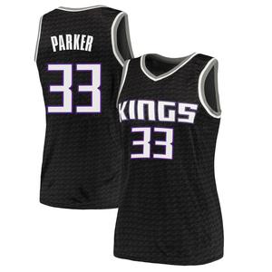 Nike Sacramento Kings Swingman Black Jabari Parker Jersey - Statement Edition - Women's