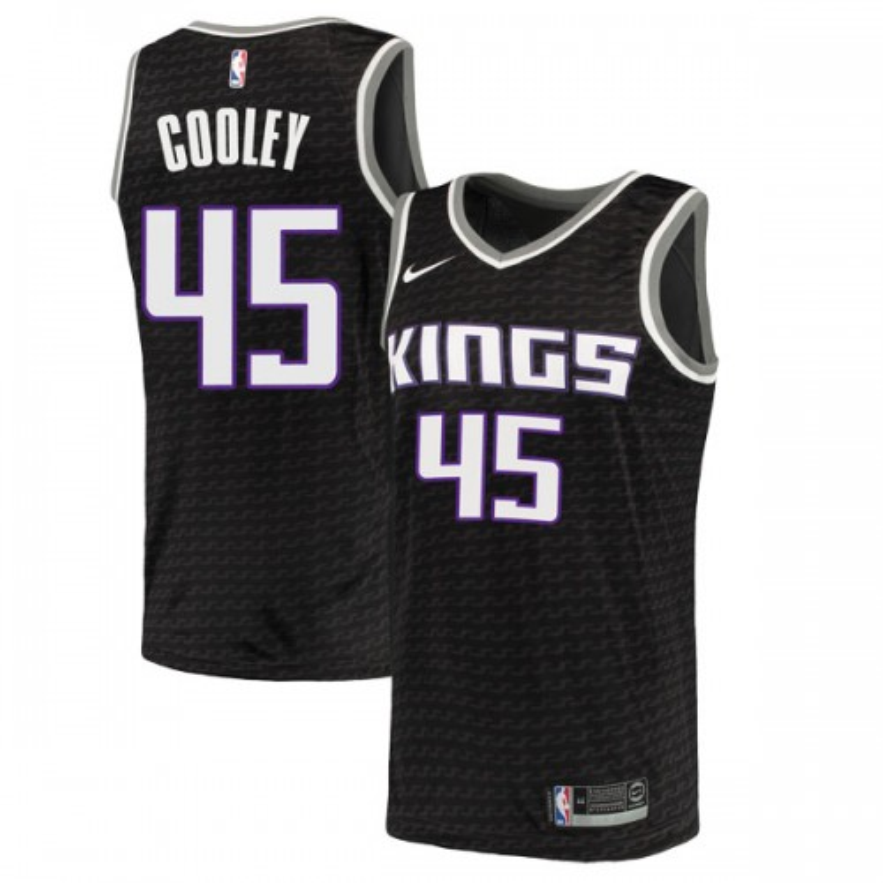 Nike Sacramento Kings Swingman Black Jack Cooley Jersey - Statement Edition - Men's