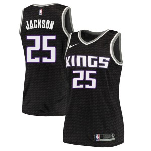 Nike Sacramento Kings Swingman Black Justin Jackson Jersey - Statement Edition - Women's