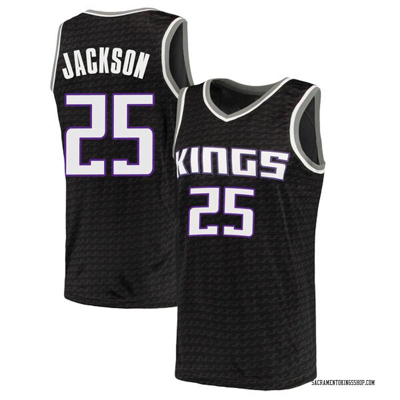 Nike Sacramento Kings Swingman Black Justin Jackson Jersey - Statement Edition - Youth