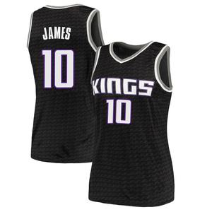 Nike Sacramento Kings Swingman Black Justin James Jersey - Statement Edition - Women's