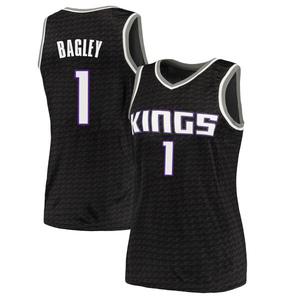 Nike Sacramento Kings Swingman Black Marvin Bagley III Jersey - Statement Edition - Women's