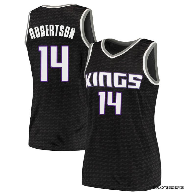 Nike Sacramento Kings Swingman Black Oscar Robertson Jersey - Statement Edition - Women's