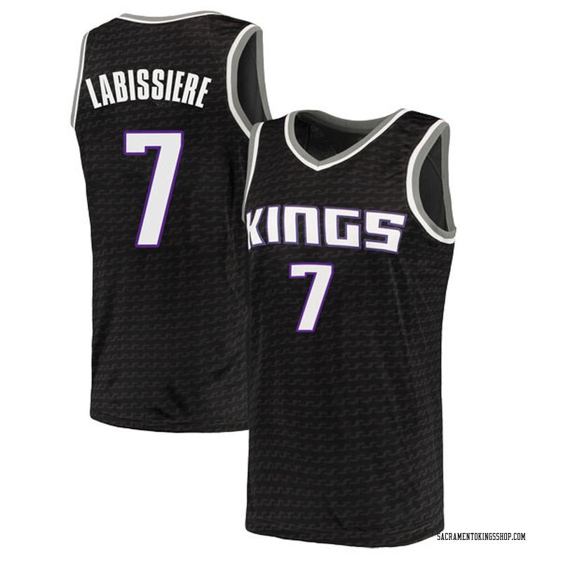 Nike Sacramento Kings Swingman Black Skal Labissiere Jersey - Statement Edition - Youth